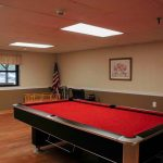Picture of the Pool Table in Peter Herdic