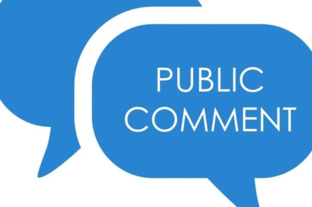 Notice of Comment Period and Public Hearing